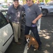 Bernie with Larry W. and grandpa John