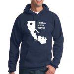 NCBR California Hoodie - Navy