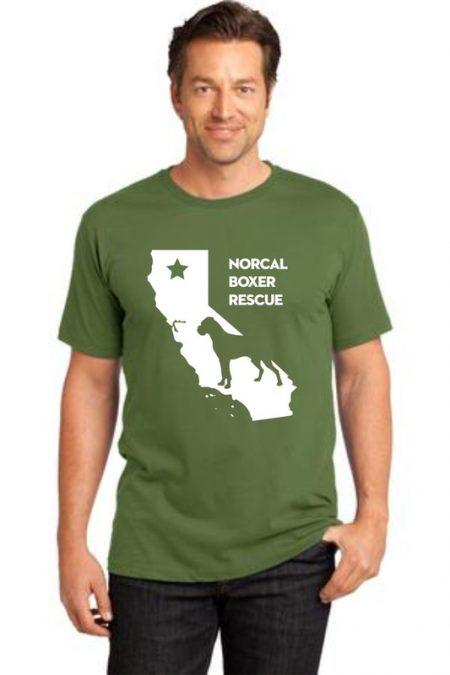 NCBR California Men's T-Shirt in Fatigue