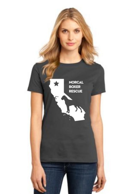 NCBR California Women's T-Shirt in Charcoal