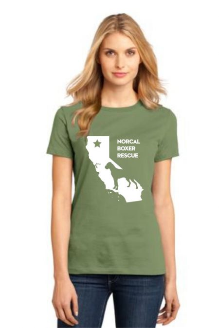 NCBR California Women's T-Shirt in Fresh Fatigue
