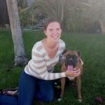 Caitlyn M. with Quinn
