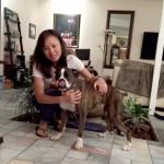 Liz T. with Roxy