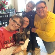Koda and his new family