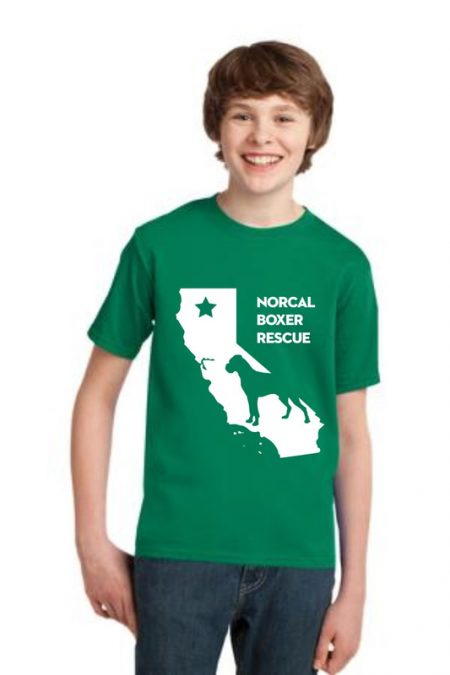 NCBR California Youth T-Shirt in Kelly Green